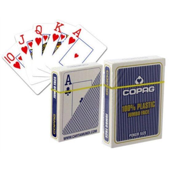 COPAG plasztik póker kártya, 2 Jumbo index, 1 csomag