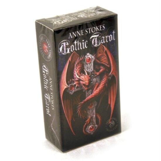 Anne Stokes Gothic Tarot kártya (78 lapos jóskártya), 1 csomag