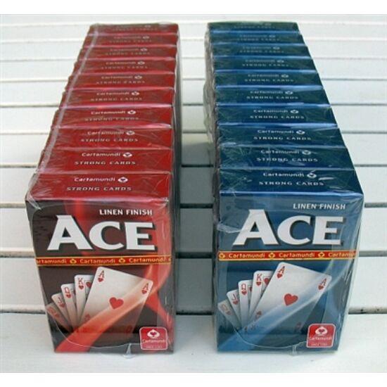ACE bridzs/römi kártya, 10 csomag