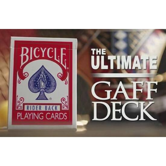 The Ultimate Bicycle Gaff Deck Kit, w/DVD