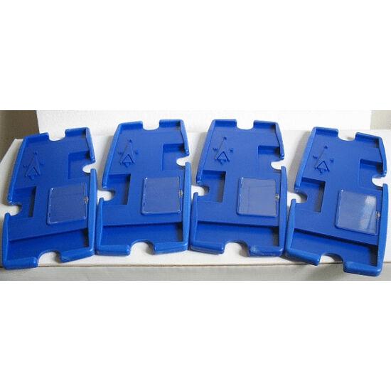 Bridge board készlet, kemény műanyag (4 db bridzs tok)