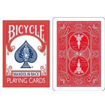 Bicycle 809 Mandolin Back póker kártya - piros