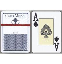 Cartamundi 100% plasztik póker kártya - kék