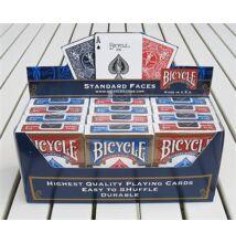 Bicycle 808 Rider Back póker kártya, 1 karton (12 csomag)