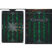 Green (Emerald) Artifice kártya (v2), 1 csomag