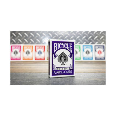 Bicycle 808 Rider Back - Purple Back kártya (lila hátlapú)