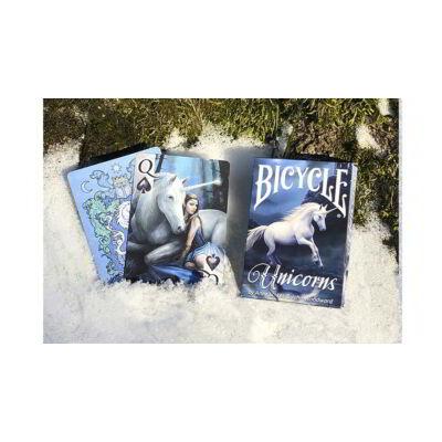 Bicycle Anne Stokes Unicorns kártya