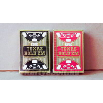 COPAG Texas Hold 'em Gold kártya, dupla csomag